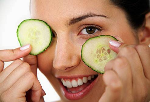 Cucumber Slices for eyes