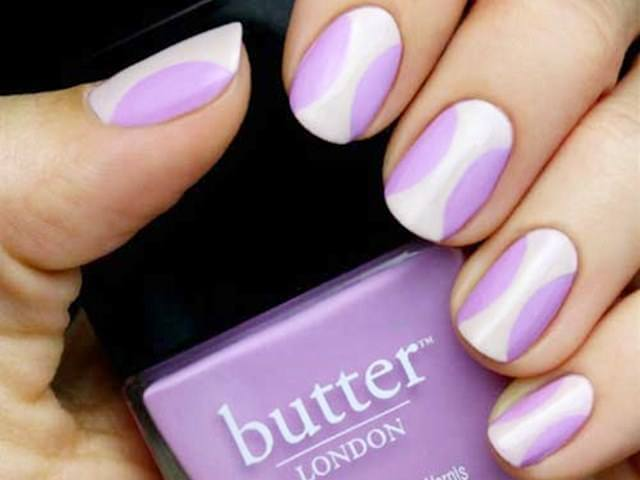 Lavender Nail Art Designs