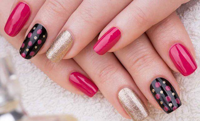 Mix and Match Nail Art Designs