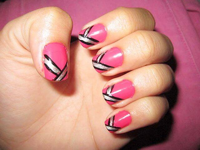 Pretty in Pink Nail Art Designs