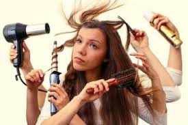 Stop Abusing Your Hair With Styling Tools