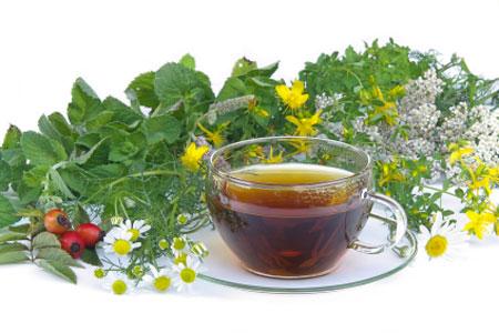 Water or Herbal Tea