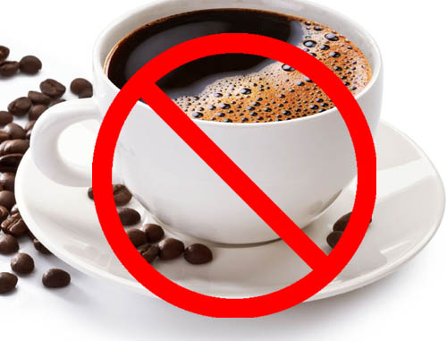 Cut back on caffeine during pregnancy