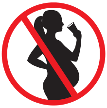 Cut out alcohol during pregnancy