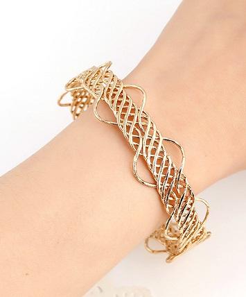 Gold Arm Cuffs