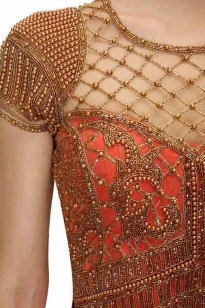 Magnificent golden beads