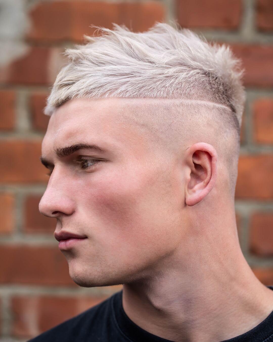 Short Haircut + High Fade