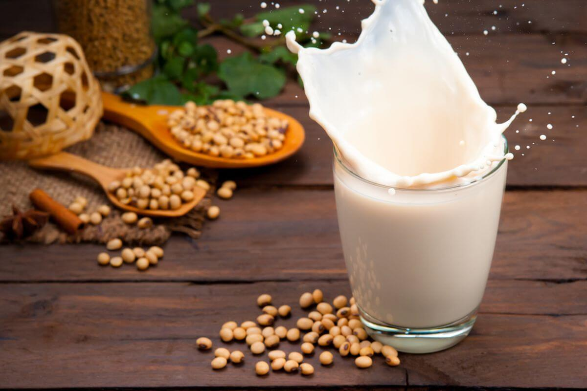 Soya Milk and Soya Beans for breast growth