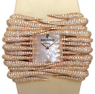 The Rose Gold Diamond Wristwatch