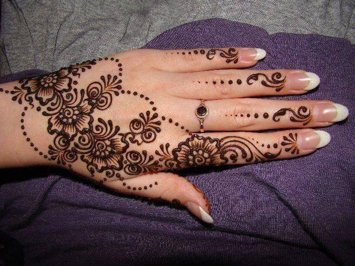 Floral Mehndi Design Images